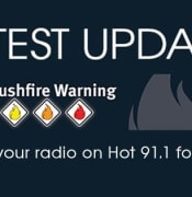 bushfire hot91