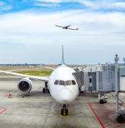 AdobeStock Qantas plane