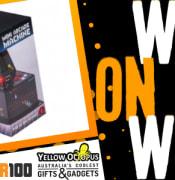 Slider Win on the Web Yellow Octopus Mini Arcade