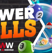 Powerballs slider