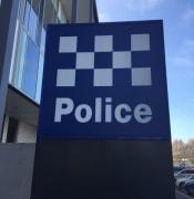 Police station sign.JPG