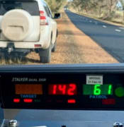landsborough cops speeding