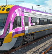 VLine train Victorian Government