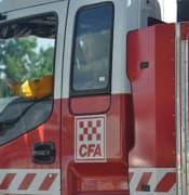 Ballan CFA fire truck 2018Mar17BalaratMar18BallanEEF 108