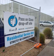 recycled glass drop off site city of ballarat nov 2019 pic kate 3ba 7867599872 n