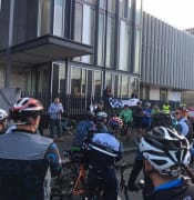 Ride to the Wall ballarat police station 2017