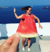 Image result for watermelon dress