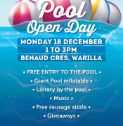 Warilla Pool Open Day
