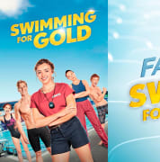 Win a family pass for Swimming For Gold slider