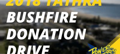2018 TATHRA BUSHFIRE DONATION DRIVE