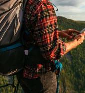 lost hiker refuses phone calls