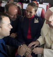 pope flight marriage