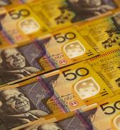 bigstock Closeup Australian Dollars Ban 319630318