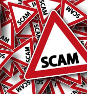 scammer sign free