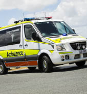 Queensland Ambulance Service Geebung crew at Sandgate & Brighton