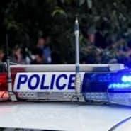 police lights daytime