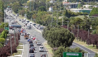 Hobart traffic