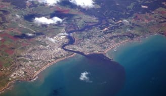 ulverstone arial view