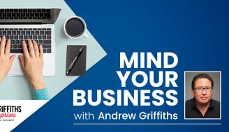 TAS HBA Tas Talks Mind Your Business Andrew Griffiths slider