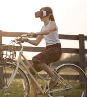 Augmented Reality Bicycle Bike Child Cycli
