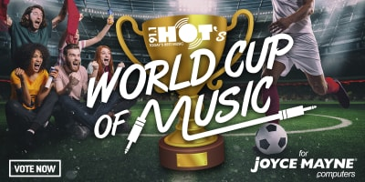 Slider World Cup of Music hot91 1200x600