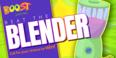 beat the blender slider