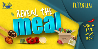 reveal the meal slider