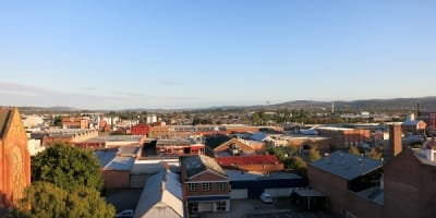 View of Launceston from the Hotel Grand Chancellor 1