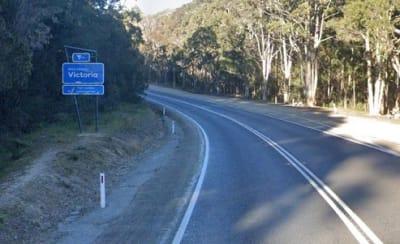 VIC NSW Border CRED GOOGLEMAPS