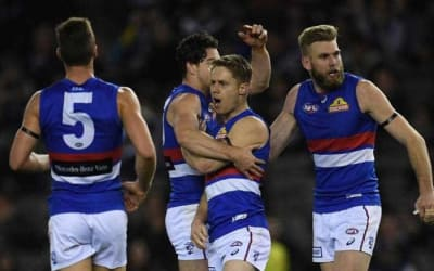 Dogs hold off Blues challenge