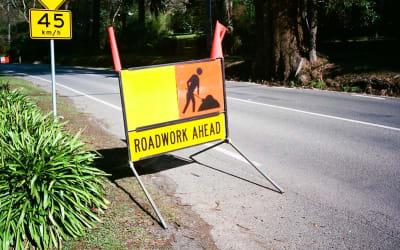 Sign: Roadwork Ahead