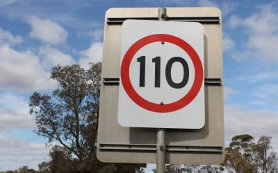 110 Sign