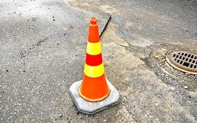 Orange traffic cone 2016