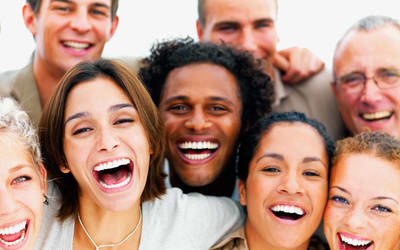 people laughing Image