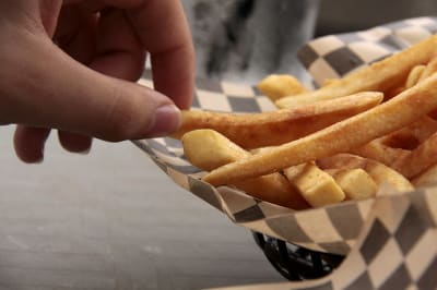 fries and fingers