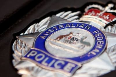 Federal Police generic media release badge
