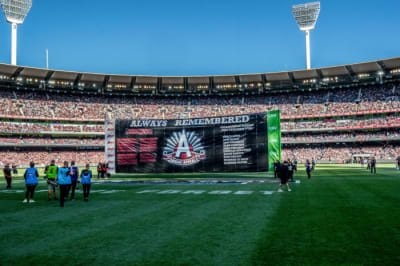 Crowd boost for Anzac Day