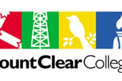 Mount clear college logo