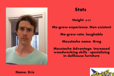 Kris competitor card
