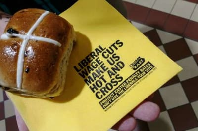 hot cross buns unions ballarat april 2019