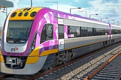 VLine train Victorian Government