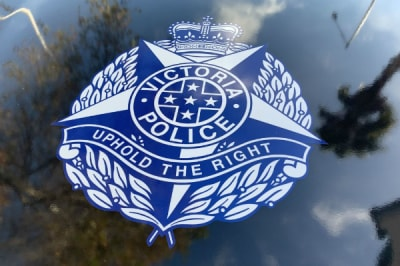 Police logo Adam Spencer Geelong Broadcasters