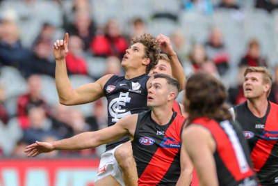 Blues take it slow with Curnow