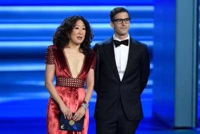 [TRENDING] Andy Samberg and Sandra Oh to co-host 2019 Golden Globe Awards