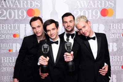 The 1975 win big at Brits music Awards.jpg