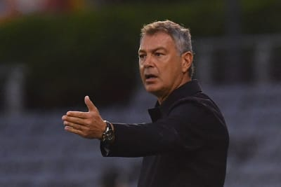 Western United coach Mark Rudan during the A-League match between Macarthur FC and Western United FC at Campbelltown Stadium in Campbelltown, Sydney, Saturday, March 20, 2021. (AAP Image/Dean Lewins) NO ARCHIVING, EDITORIAL USE ONLY