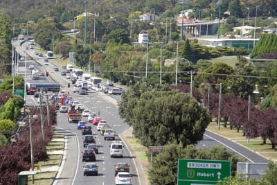 Hobart traffic