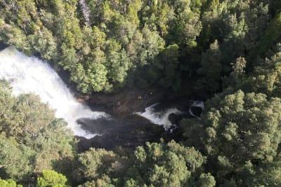 waterfall fall