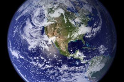 earth blue planet globe planet 87651