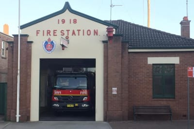 FIRE STATION MITTAGONG 1918